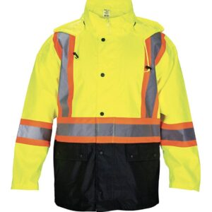 Rain Jacket Class 2 Yellow XL